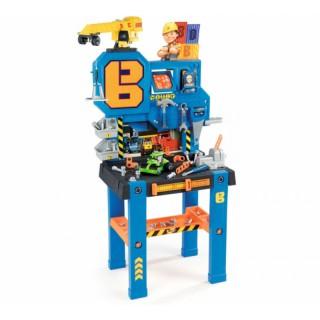 Vaikiškas darbastalis su 93 priedais   Bob Builder   Smoby 360715