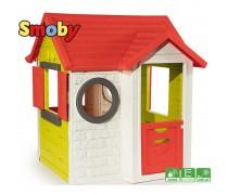 Vaikiškas namelis su durų skambučiu   Smoby