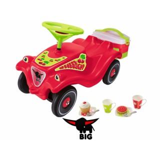 Mašina paspirtukas su iškylos krepšiu   Bobby Car Classic Cherry Girl   Big 56095