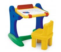 Vaikiškas stalas su piešimo lenta ir kėdute | Chicco