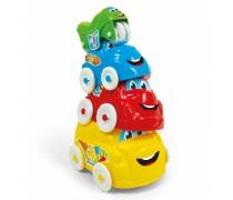 Linksmų mašinėlių bokštas 4 vnt | Clementoni