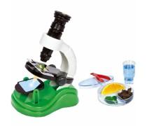 Pirmasis vaiko mikroskopas didinantis 300 kartų   Clementoni 60761