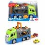 Automobilis Scania vilkikas 42 cm ir 2 mašinėlės | Happy Car | Dickie 3817000