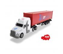 Didelis žaislinis sunkvežimis su konteineriu 42 cm | Dickie