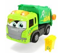 Šiukšliavežė su konteineriu | Happy Scania Garbage Truck | Dickie