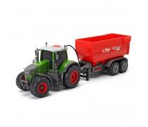 Traktorius su priekaba | 41 cm | Dickie