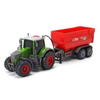Traktorius su priekaba   41 cm   Dickie
