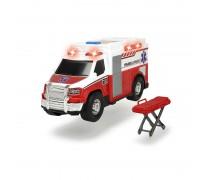 Greitosios pagalbos mašina 30 cm su šviesos ir garso efektais | Medical Responder | Dickie 3306007