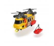 Žaislinis geltonas gelbėtojų sraigtasparnis | Rescue Helicopter | Dickie 3306004