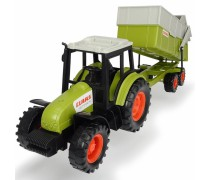 Žaislinis traktorius su priekaba 36 cm | CLAAS | Dickie