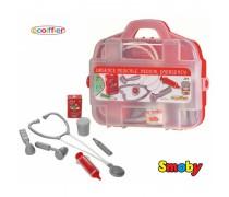 Gydytojo rinkinys lagaminėlyje su 7 priedais | Ecoiffier 249