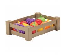 Žaislinių vaisių rinkinys dėžutėje 15 vnt | Ecoiffier