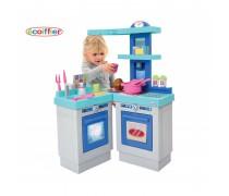 Žaislinė modulinė virtuvėlė 2in1 su priedais 21 vnt | Ecoiffier