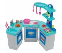 Vaikiška didelė modulinė virtuvėlė su priedais 25 vnt | Large Kitchen | Ecoiffier