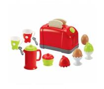 Žaislinis pusryčių rinkinys | 17 priedų | Ecoiffier