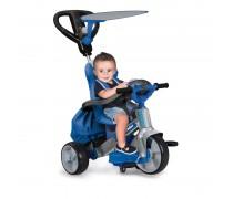 Vaikiškas mėlynas triratukas su šviesos ir garso efektais | Baby Twist 4in1 | Feber