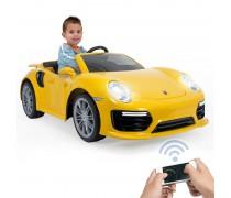 Akumuliatorinis automobilis - vaikams nuo 3 m. | Porsche 911 Turbo S Special Edition 6V | Injusa 7182