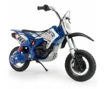 Akumuliatorinis motociklas su pripučiamais ratais - vaikams 4-8 m.| 24V Cross Fighter | Injusa 6832