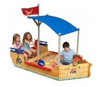 Medinė smėlio dėžė | Piratų laivas 00128 | KidKraft