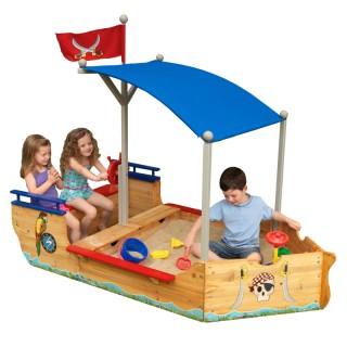 Medinė smėlio dėžė | Piratų laivas 00128 | KidKraft 00128