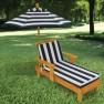 Medinis vaikiškas gultas su skėčiu | KidKraft 00105