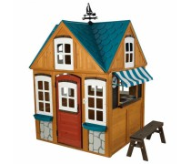 Medinis vaikiškas namelis | 2018  Seaside Cottage | KidKraft 00402