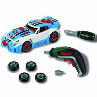 Žaislinis autopuošybos rinkinys su Ixolinu atsuktuvu 2 in 1   Bosch   Klein 8668
