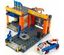 Automobilių remonto dirbtuvės ir plovykla Hot Wheels | Konstruktorius | Klein