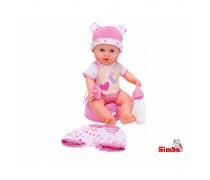 Interaktyvi lėlytė 30 cm | New Baby Born | Simba