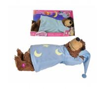 Miegantis ir knarkiantis lokys 40 cm | Maša ir lokys | Simba 9301008
