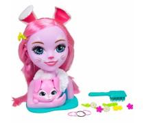 Lėlės galva šukuosenoms Bree Bunny | Enchantimals | Simba 9200144