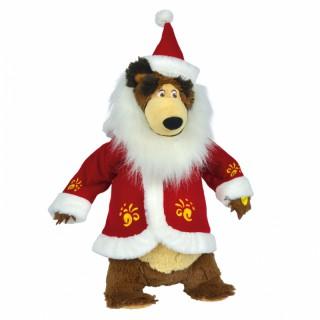 Dainuojantis lokys su Kalėdų senelio rūbais | Maša ir Lokys | Simba 9301011