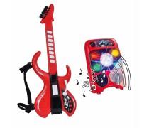Vaikiška gitara su stiprintuvu ir diskotekos rutuliu | My Music World | Simba
