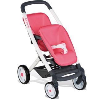 Lėlių vežimėlis dvynukams | Maxi Cosi Quinny 253298 | Smoby