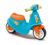 Paspiriamas mėlynas balansinis dviratis motociklas | Scooter | Smoby