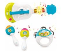 Vaikiškas muzikos instrumentų rinkinys 4 vnt | Cotoons | Smoby