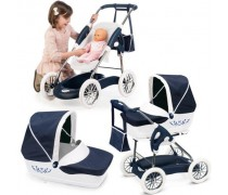 Vaikiškas vežimėlis lėlėms 3 in 1 | Piccolo Combi 2018 | Smoby