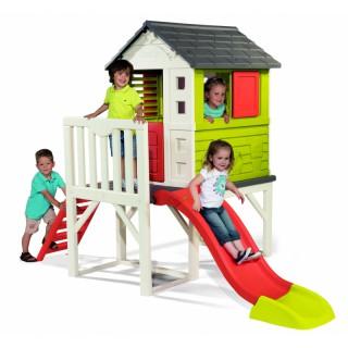 Vaikiškas žaidimų namelis ant polių | Smoby