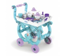 Vežimėlis su arbatos indų rinkiniu ant padėklo | Frozen | Smoby