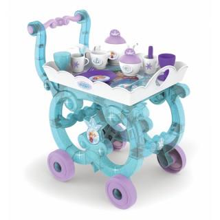 Vežimėlis su arbatos indų rinkiniu ant padėklo   Frozen   Smoby 310577