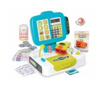 Žaislinis interaktyvus kasos aparatas su priedais 27 vnt | Smoby 350104
