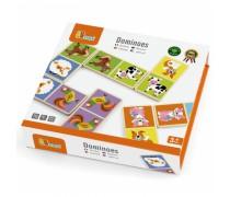 Medinis domino žaidimas | Ferma | Viga