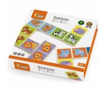 Medinis domino žaidimas | Zoologijos sodas | Viga Toys