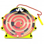 Medinis magnetinis žaidimas-labirintas | Boružėlė | Viga 59964
