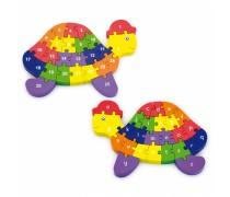 Medinė dėlionė 3D | Vėžliukas | Viga Toys