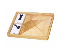 Medinė dėlionė dėžutėje | 7 dalys | Viga 56301