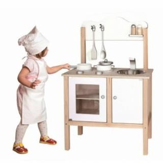 Medinė klasikinė virtuvė su aksesuarais | Viga 50223