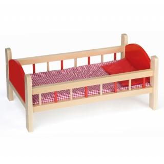 Medinė lovytė lėlėms | Viga