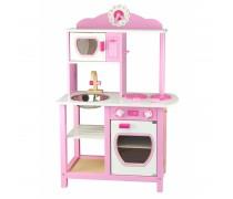 Medinė vaikiška virtuvėlė | Princess Pink | Viga 50111