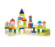 Medinės kaladėlės | Miestas | Viga Toys